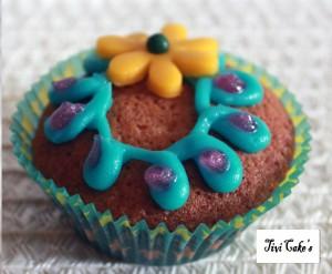 cupcake fleur dans Cupcakes avec décoration à la mascarpone 008-b3-300x247