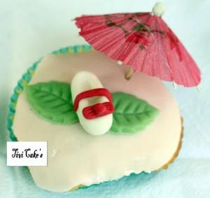 cupcake danseuse dans Cupcakes avec décoration en pâte à sucre 008b-300x283