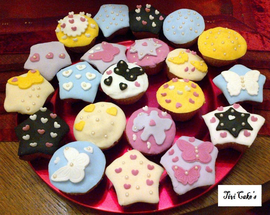 tivicakes 187 cupcakes avec d 233 coration en p 226 te 224 sucre